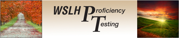 WSLH Proficiency Testing has been a provider of proficiency testing services for over 50 years. As the only proficiency testing provider that is part of a working laboratory and a top US public university, our mission is focused on promoting education and public health to laboratories nationwide.